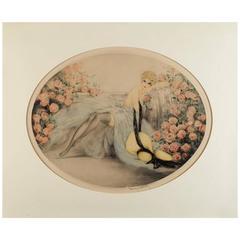 "Louis Icart, ""Les Roses"""
