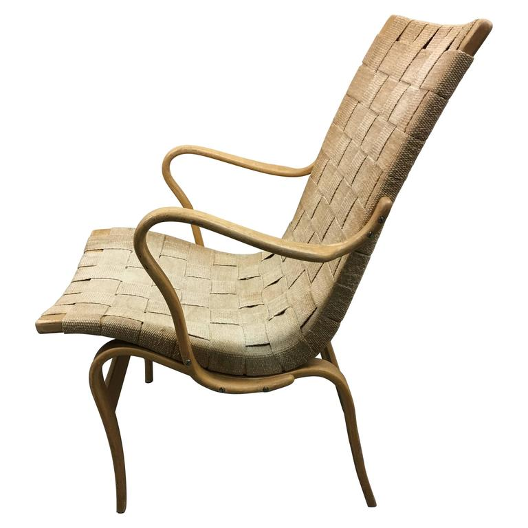 Eva Lounge Chair by Bruno Mathsson for DUX