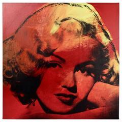 Mini Marilyn 11 Red, A Pop-Art Screenprint of Marilyn Monroe by Steve Kaufman