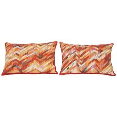 Contemporary Silk Kilim Pillows