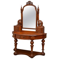 Victorian Mahogany Duchess Stand or Dressing Table