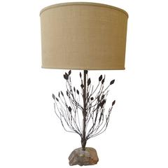 Silas Seandel or Curtis Jere Style Lamp