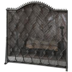 Fireplace Grill with Tools