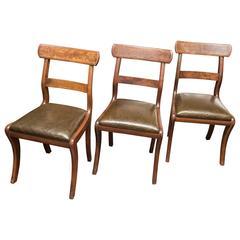 Three English Chairs