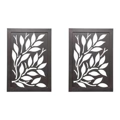 Pair of Iron Wall Art