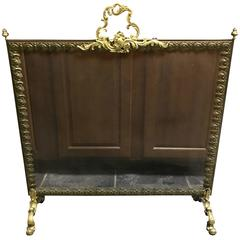 Magnificent 19th Century French Fireplace Screen