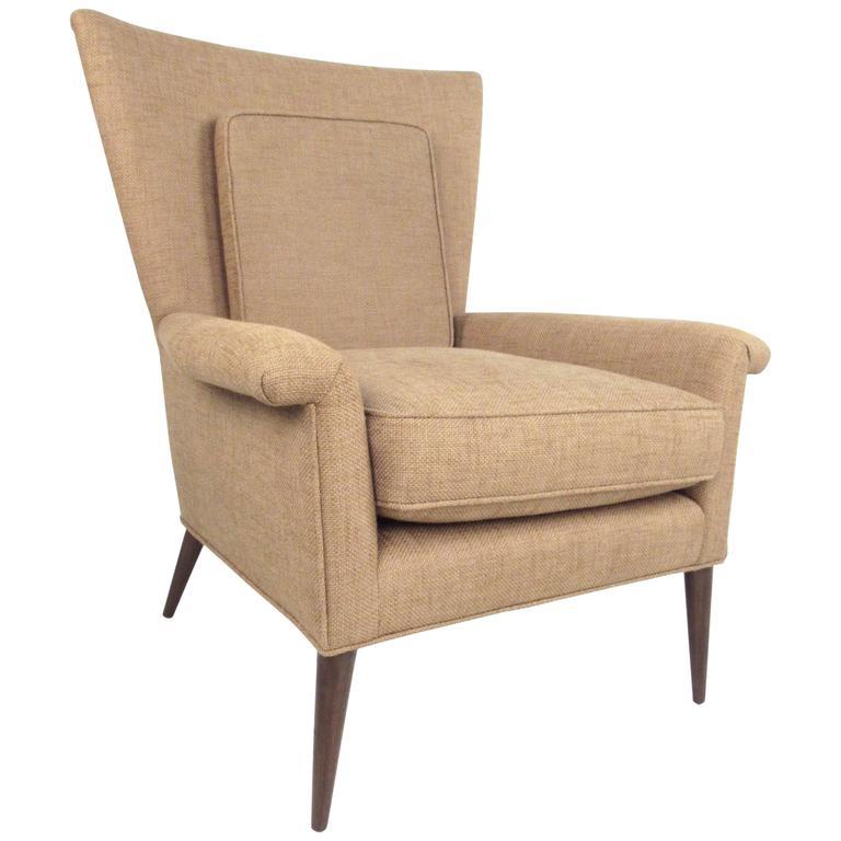 Paul McCobb Wingback Lounge Chair