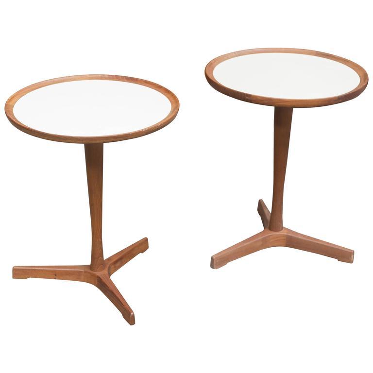 Hans C Andersen Side Table For Sale