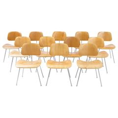 Set of 12 DCM Chairs