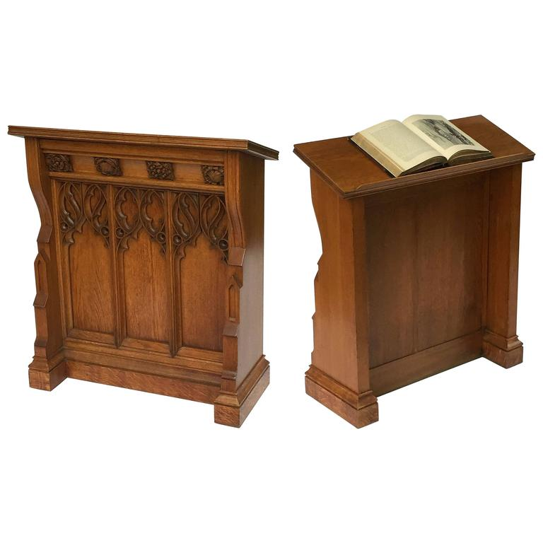 English Ecclesiastical Lectern in the Gothic Style