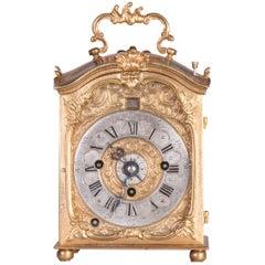 Baroque Carriage Clock with Alarm