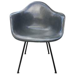 Elephant Grey Herman Miller Eames DAX Armchair