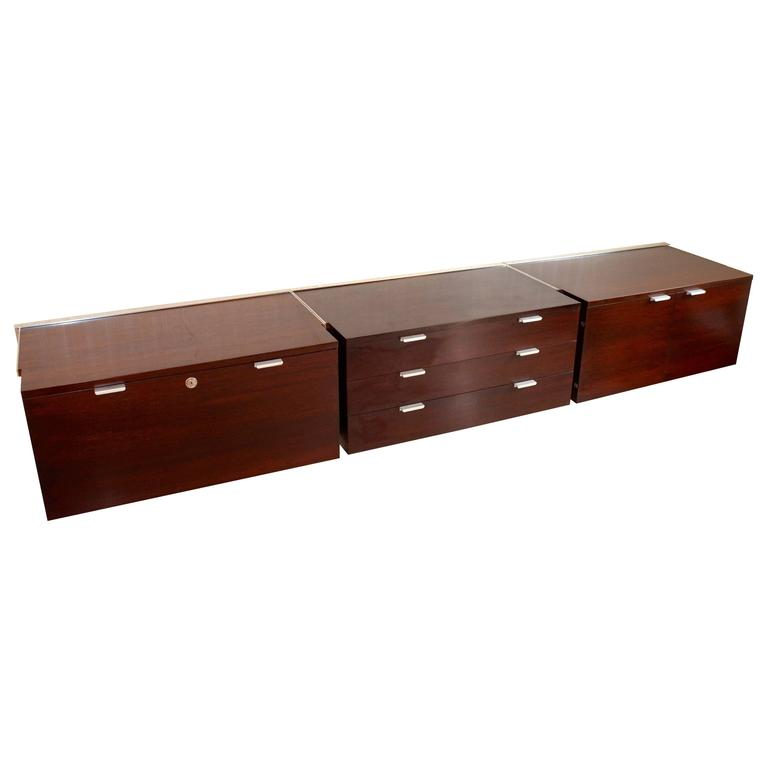 Walnut CSS Sideboard by George Nelson for Herman Miller