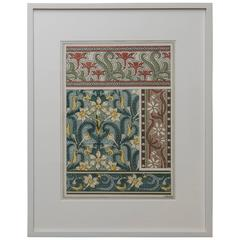 Decorative Wallpaper Print