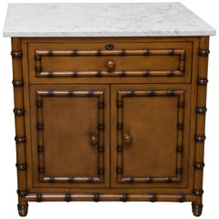 Faux Bamboo Small Chest