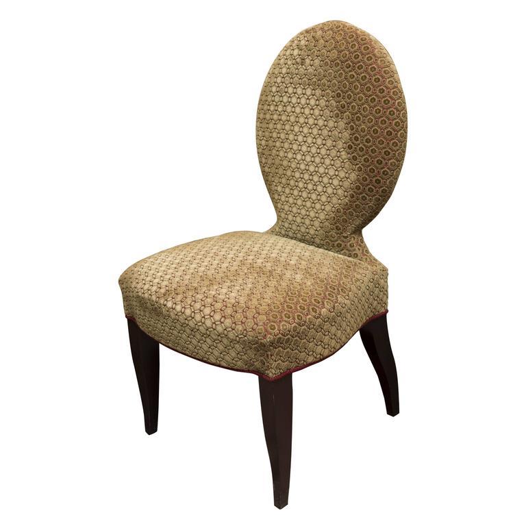 Beautiful Velvet Side Chair