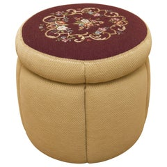 Pin Cushion Style Pouf