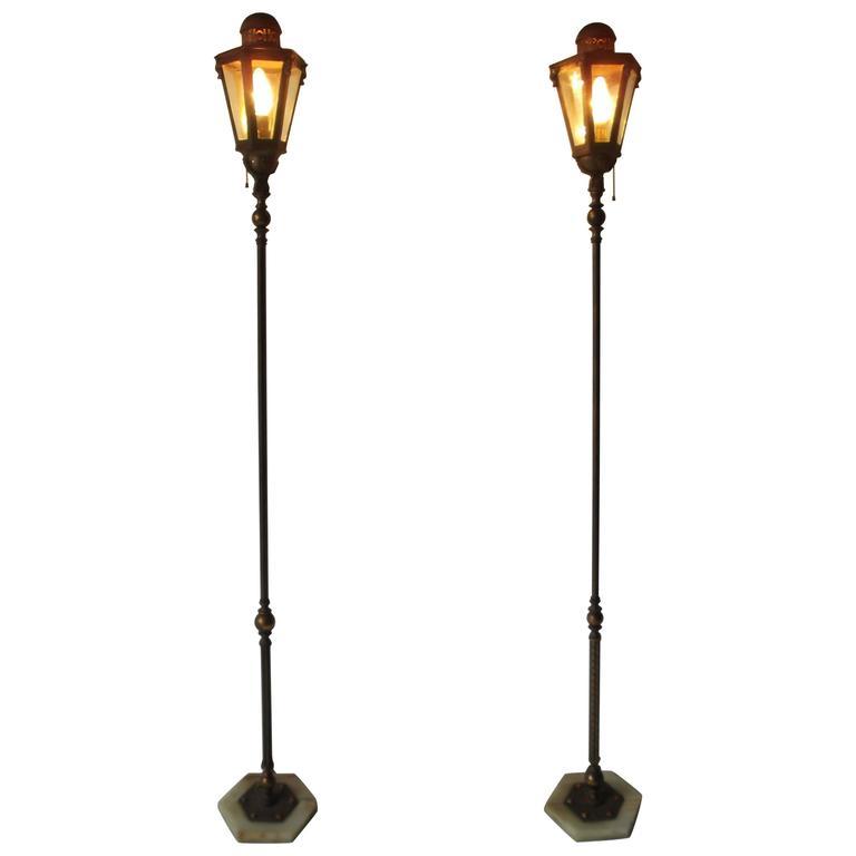 of antique moorish onyx and jewel base lantern floor lamps for sale. Black Bedroom Furniture Sets. Home Design Ideas