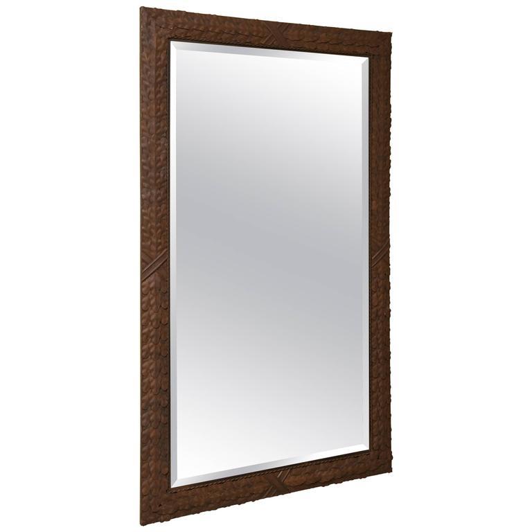 Tole Work Mirror