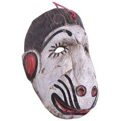 Vintage Guatemalan Folk Art Monkey Dance Mask