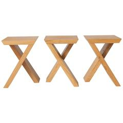 Hocker #7 Tables by Kaspar Hamacher