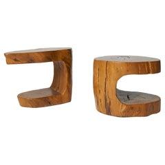 Pair of Side Tables by Hugo Franca