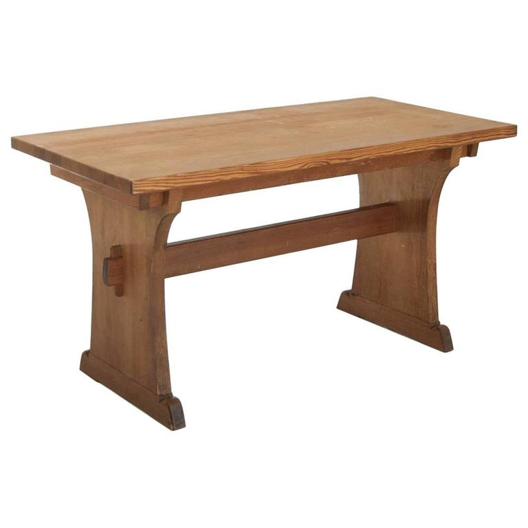 Axel Einar Hjorth Extendable Dining Table Manufactured by Nordiska Kompaniet 1
