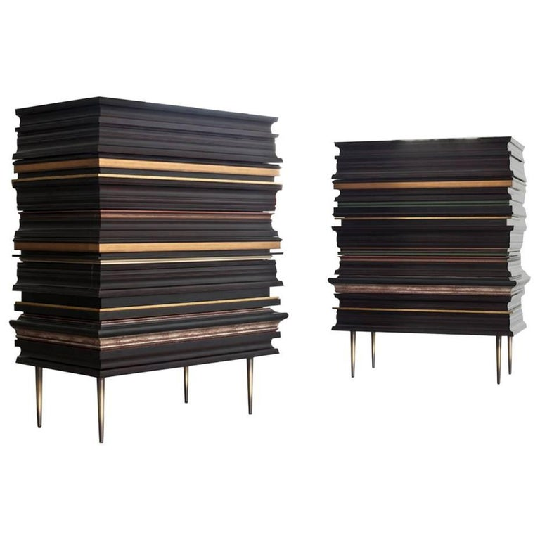 Luis Pons, Pair of Frame Dressers For Sale