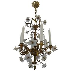 19th Century French Church Chandelier