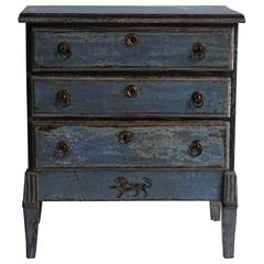 Late 18th Century Swedish Drawer Dresser