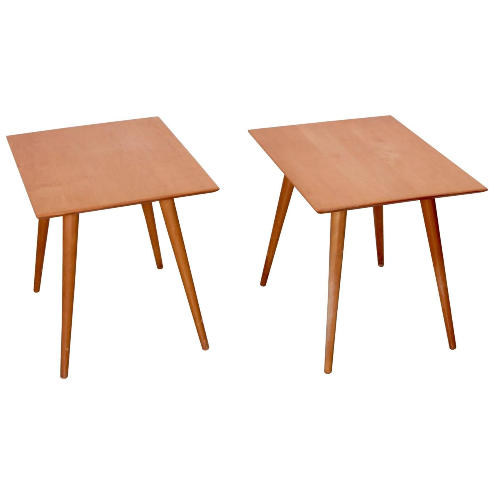Pair of Paul McCobb End Tables for Winchendon, Planner Group Series
