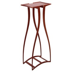 Rare and Signed Richard Tannen Studio Craft Plant Stand or High Table
