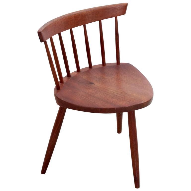 Merveilleux Early George Nakashima Studio Mira Nakashima Mira Chair For Sale