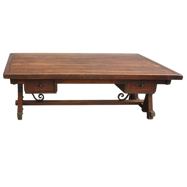 1930s Monterey Period Coffee Table For