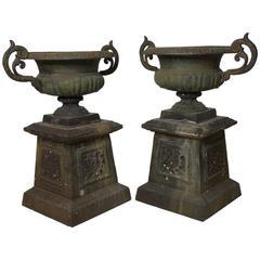 19th Century Campana Victorian Urns