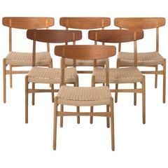 Wegner Dining Chair Set