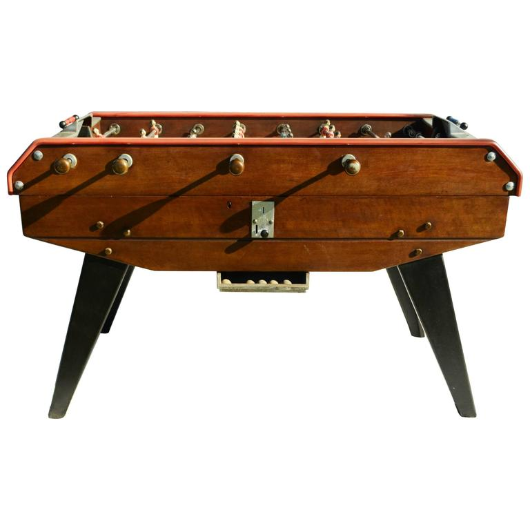 vintage baby foot foosball table at 1stdibs. Black Bedroom Furniture Sets. Home Design Ideas