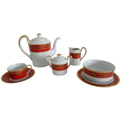 Christian Dior Ambassadior Fine China Tableware 12 Place Setting, 64 Pieces