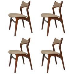 Erik Buck Model #310 Dining Chairs