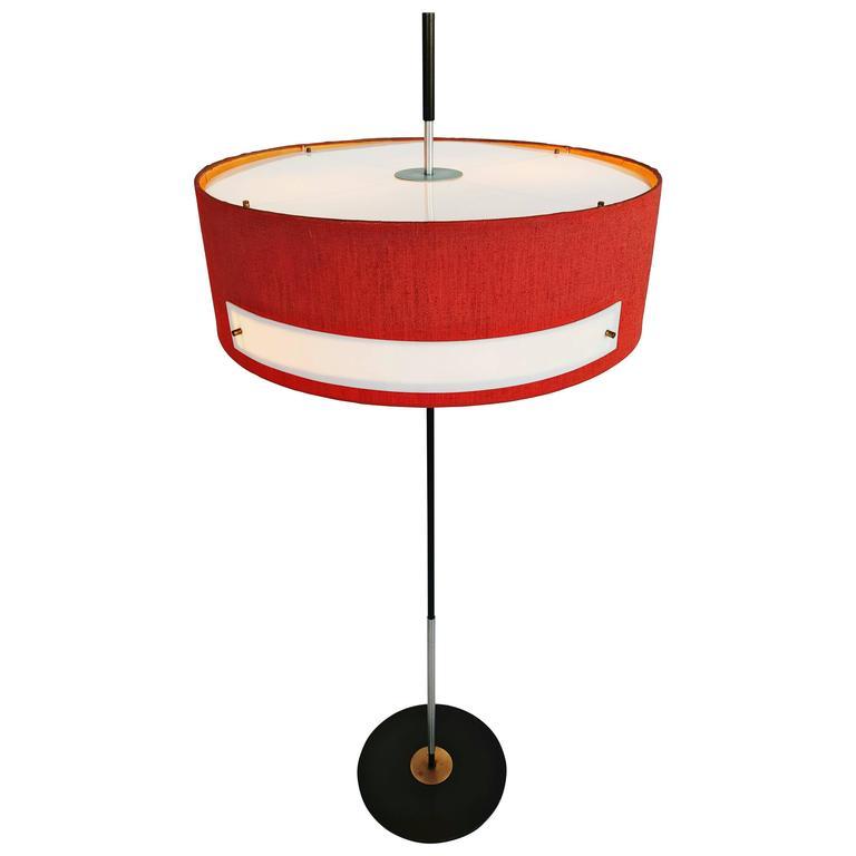 Rare Italian Floor Lamp 1950s