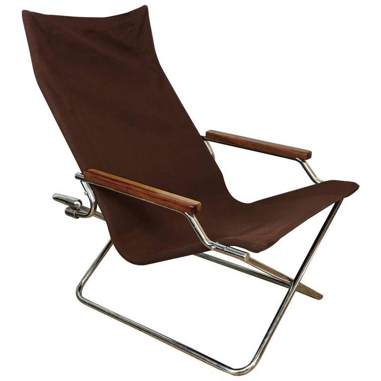 Superieur Suekichi Uchida Folding Sling Chair For Sale