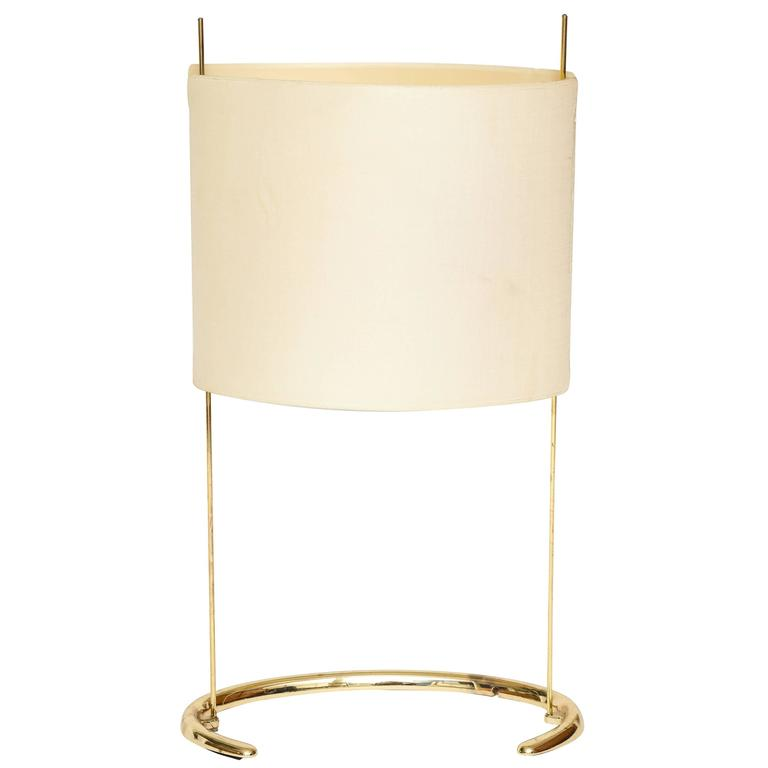 Gala Table Lamp Arteluce Paolo Rizzatto Brass Italian, 1970s For Sale