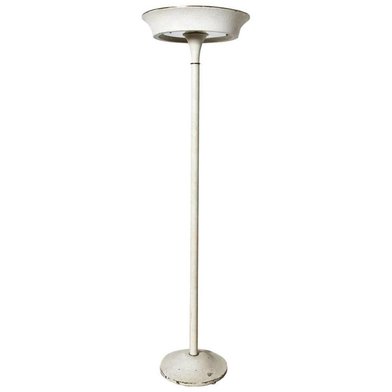 French Art Deco Floor Lamp, 1930s For Sale