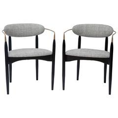 "Dan Johnson ""Viscount"" Chairs - 1 Left"
