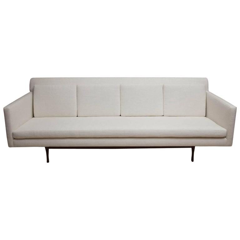 "Rare Paul McCobb ""Symmetric Group"" Sofa for Widdicomb For Sale"