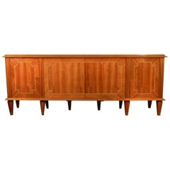 Decoene, Art Deco Mahogany Sideboard, circa 1940