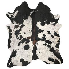 Spotted Tri-Color Cowhide Rug