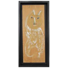 Jimmy Lee Sudduth Painting of a Dog