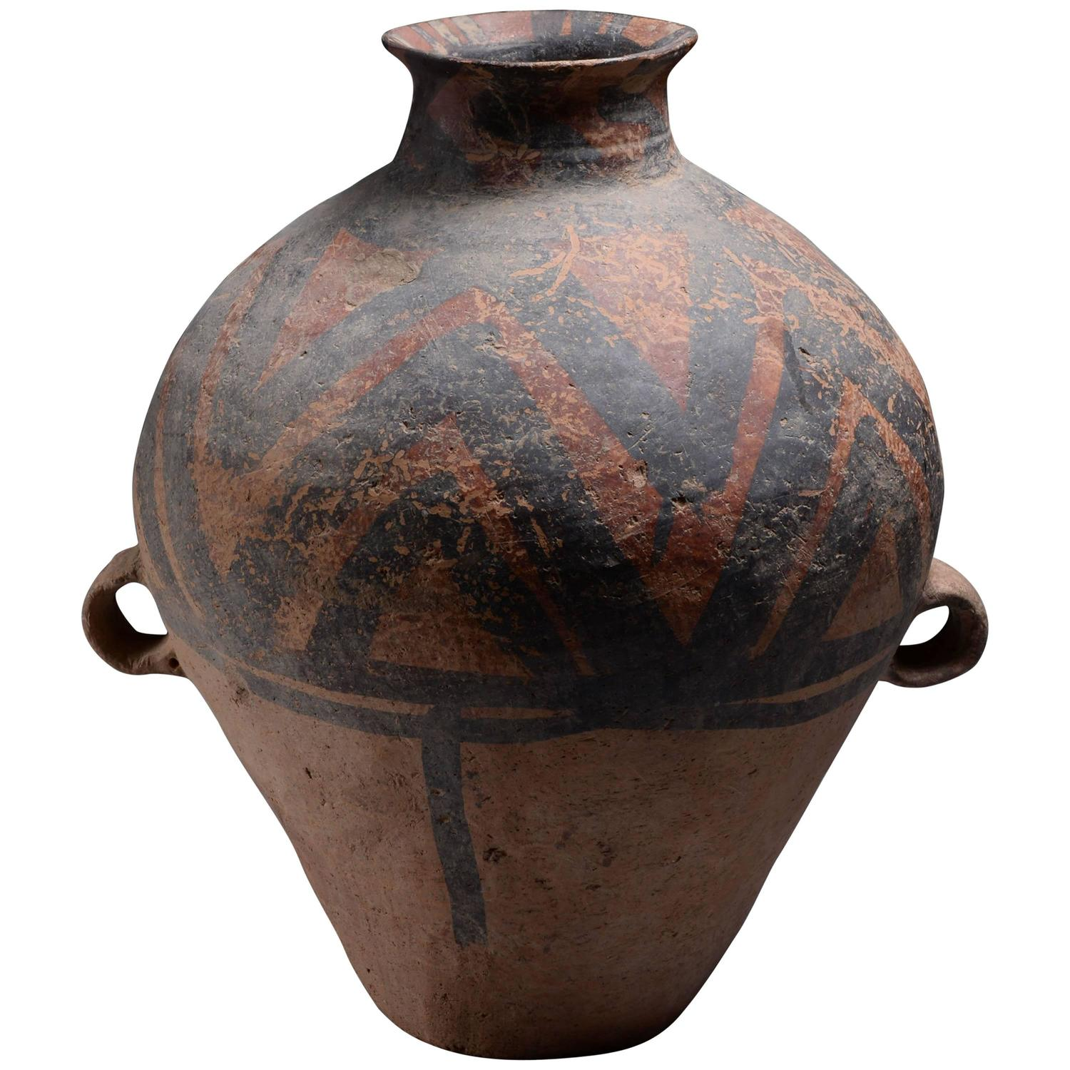 Ancient chinese neolithic yangshao culture pottery amphora 3000 ancient chinese neolithic yangshao culture pottery amphora 3000 bc at 1stdibs reviewsmspy