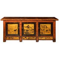Late 19th Century Chinese Gansu Cabinet